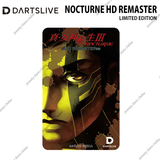 NOCTURNE HD REMASTER - VERSION A DARTSLIVE CARD • LIMITED EDITION •