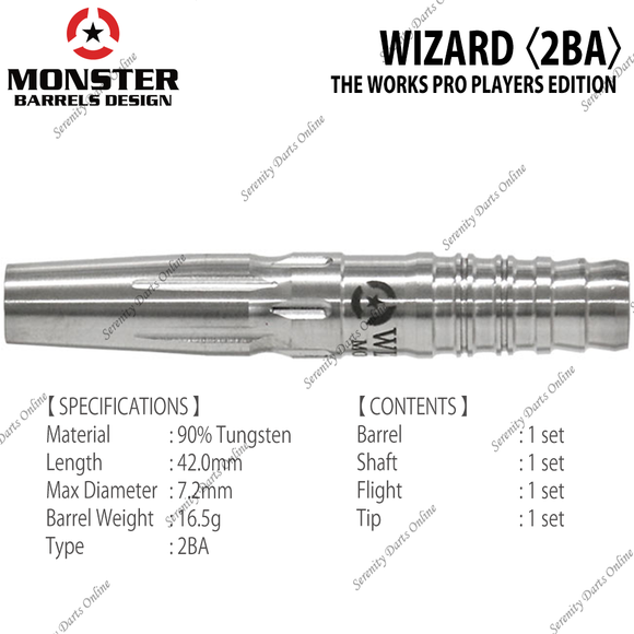 WIZARD - THE WORKS PRO PLAYERS EDITION 〈2BA〉