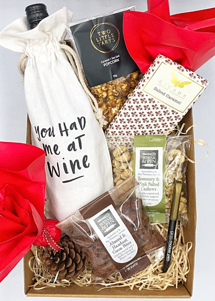 Wine & Treats Christmas Gifts
