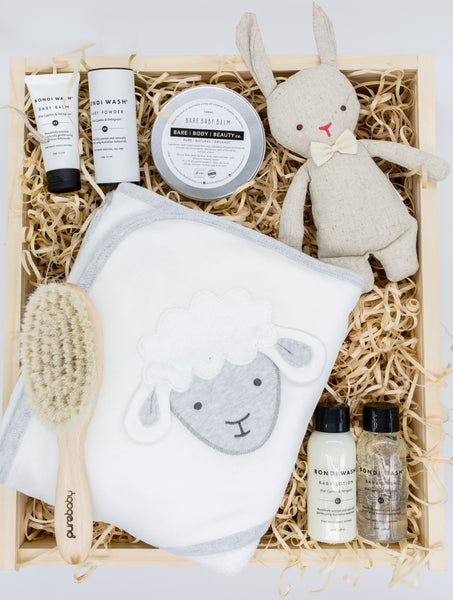 BEBE box- baby gift box - bath time
