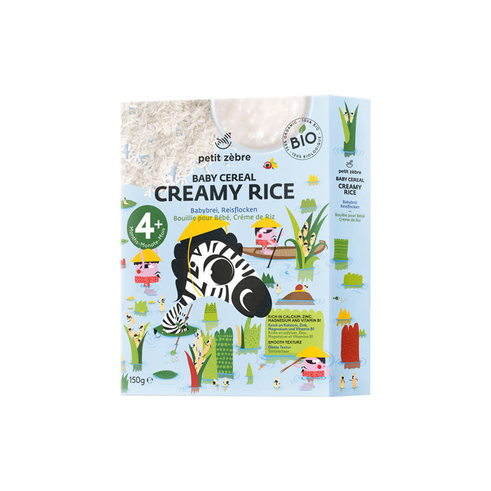 Baby Cereal, Creamy Rice, 150g, 4+ months