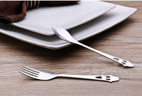 Ghost Spoon and Fork Set