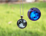 Moon Necklace (glow-in-the-dark)
