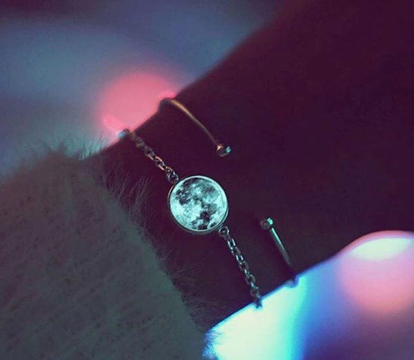 Moon Glow-in-the-dark Bracelet