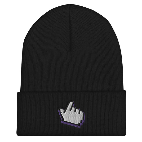 Pointing Icon Beanies