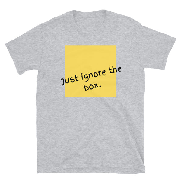 Just ignore the box T-shirt