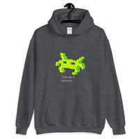 Think like a monster Hoodie