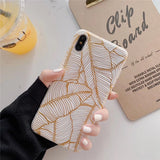 Banana Leaf Design Phone Case