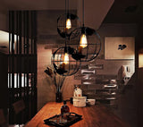 Globe Cage Lamp Home Decoration