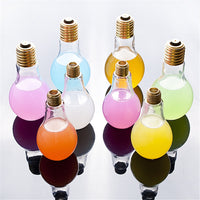 Light Bulb Juice Bottle