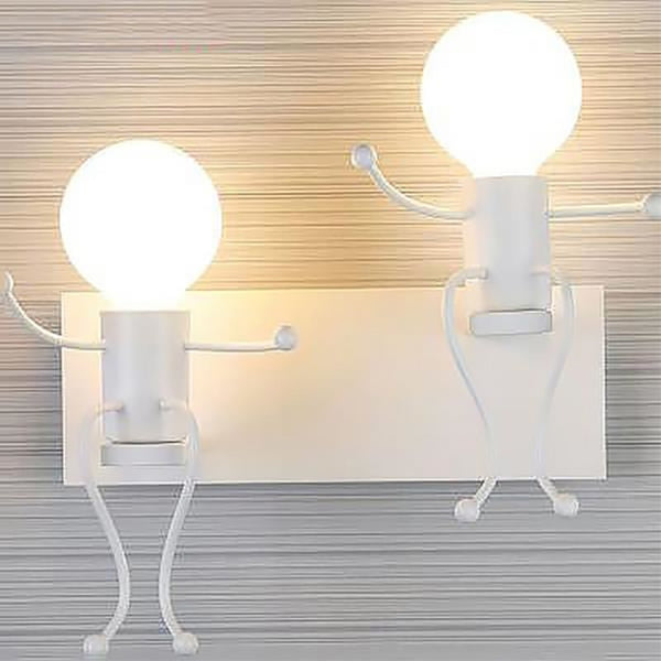 Creative Light bulbs Wall Lamp