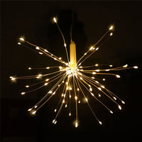Solar Power Firework Light