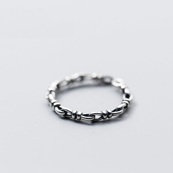 Vintage Style Ring - 925 Sterling Silver