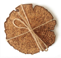 Set of 4 Wood Coasters