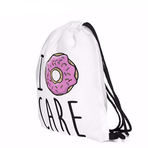 I donut care backpack