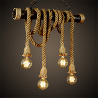 Vintage Rope Design Lamp