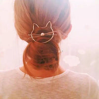 Kitty Cat Hair Pin