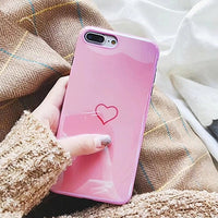 Laser Heart Phone Case