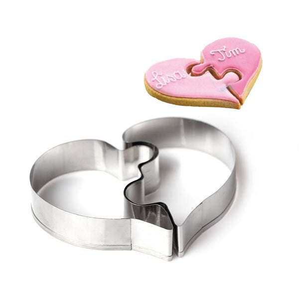 Love Puzzle Cookie Cutter