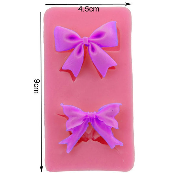 Various Sizes Bow Silicone Mold