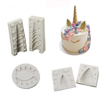 Unicorn Silicone Mold for Cake Decoration