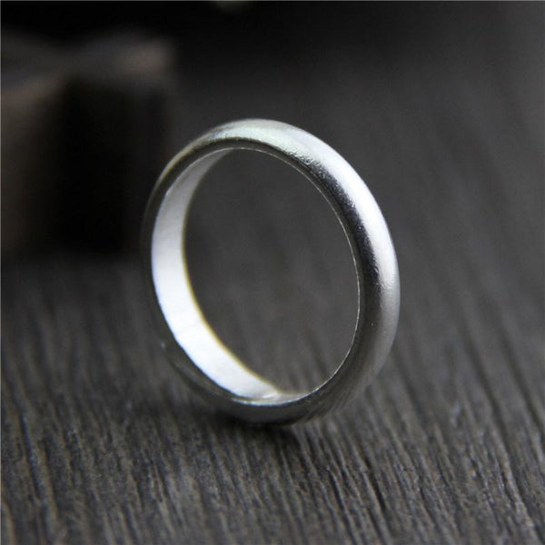 Simple Design 925 Sterling Silver Ring