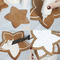 Star Christmas tree Cookie Cutters Set