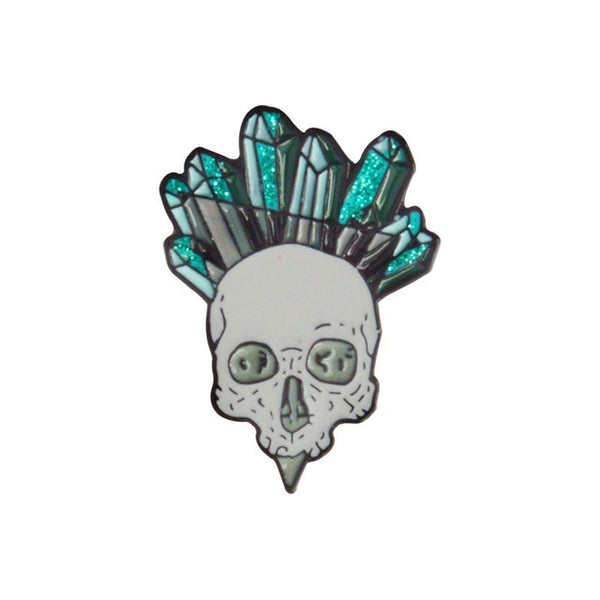 Crystal Skull Pin Set
