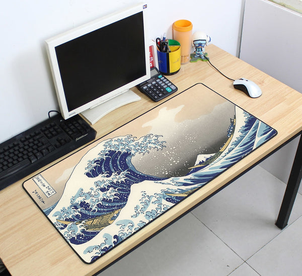 The Great Wave off Kanagawa Gaming Mouse Pad