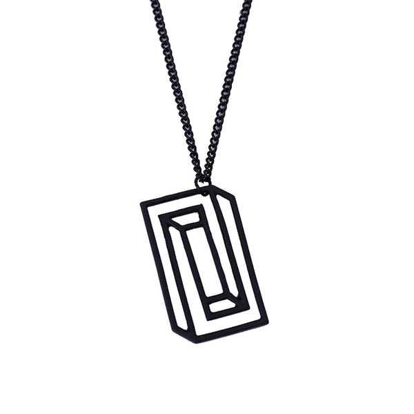 Simple Art Necklace
