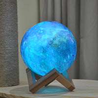 Space Moon Lamp (changeable color)