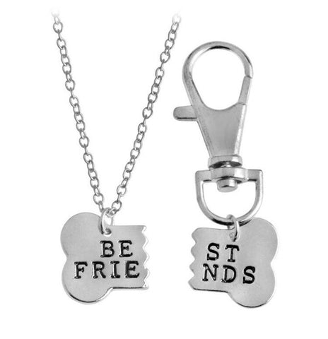 Best Friends Duo Necklaces - For you and your pet