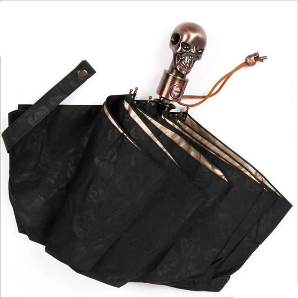 Skull Handle Umbrella