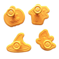 Set of Halloween Cookie Cutter (4 pieces)