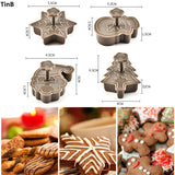Set of Christmas Cookie Cutter (4 pieces)