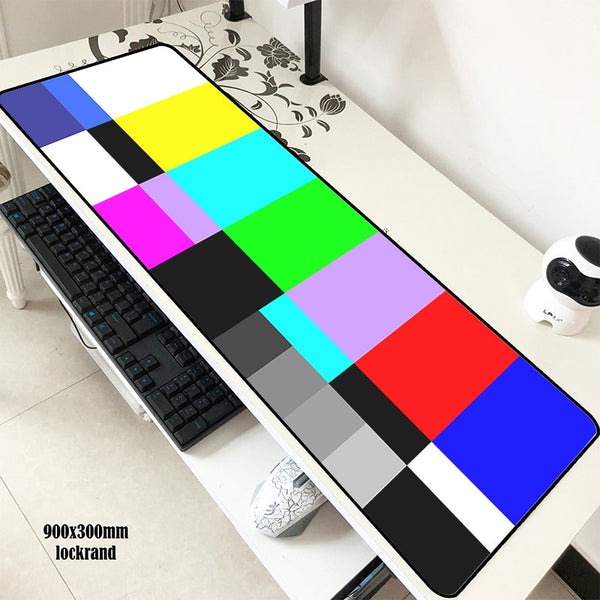 TV Signal Mouse Pad
