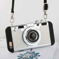 Retro Camera iphone case with strap