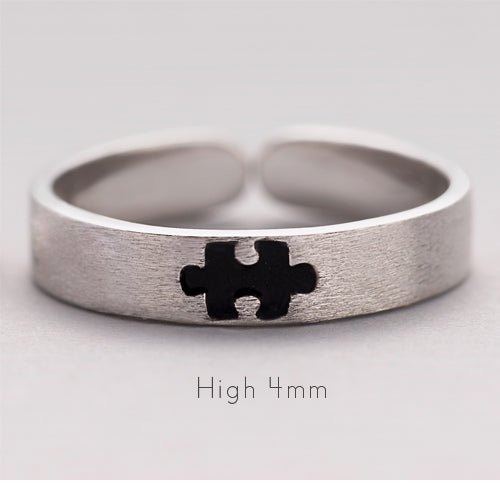 Puzzle Couple Rings