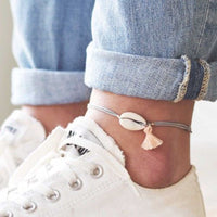 Natural Seashell Anklets