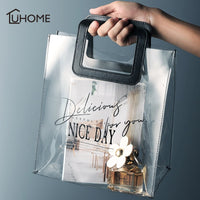 Nice Day - Transparent Modern Tole Bag