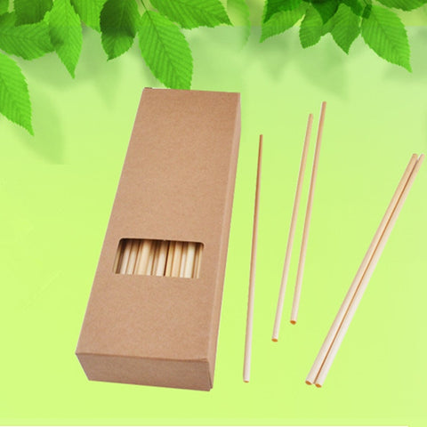 Set of 200 Disposable Eco-Friendly Straws
