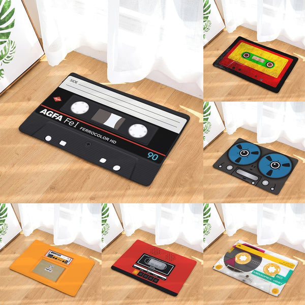 Retro Cassette Tape Floor Mat