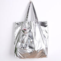 Shiny Waterproof Tote Bag