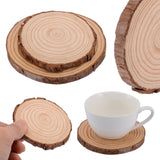 Natural Wood Coasters