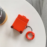 Suitcase Silicone AirPod Case