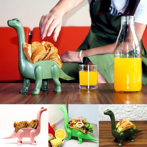 Dinosaur Taco/snack Holder