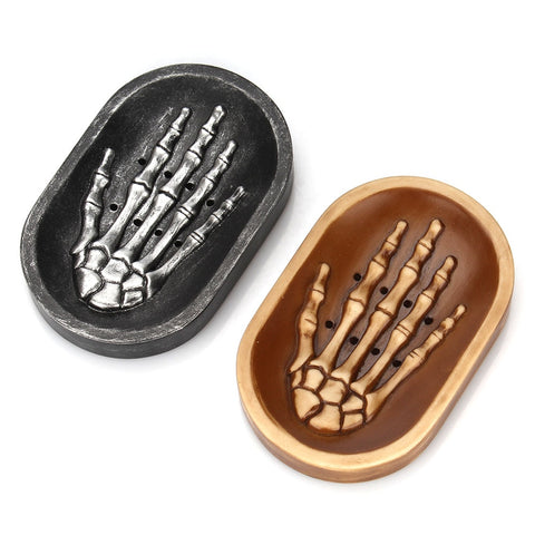 Skeleton Hand Soap Tray