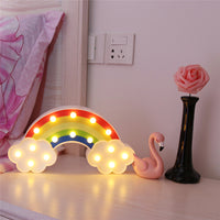Rainbow Table Lamp