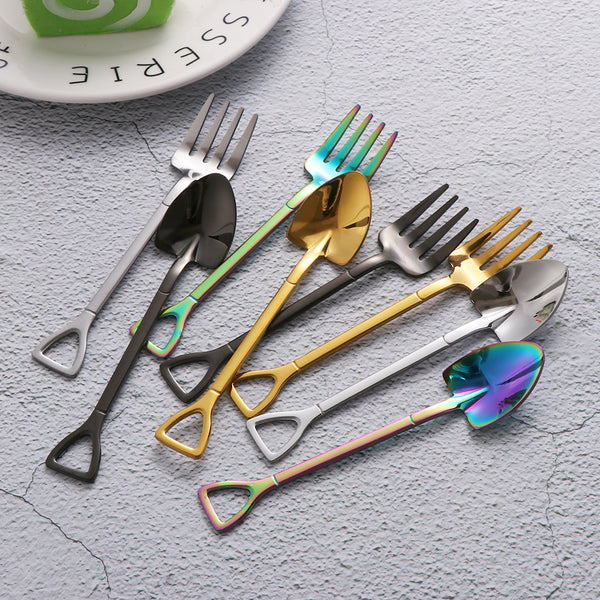 Shovel Spoon and Fork