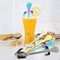 Skull Colorful Spoon
